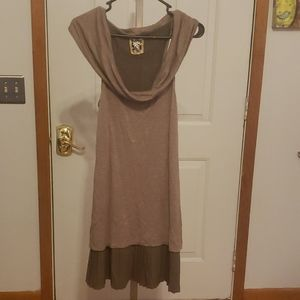 Free People small brown dress